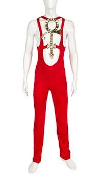 Красный сценический костюм Принса