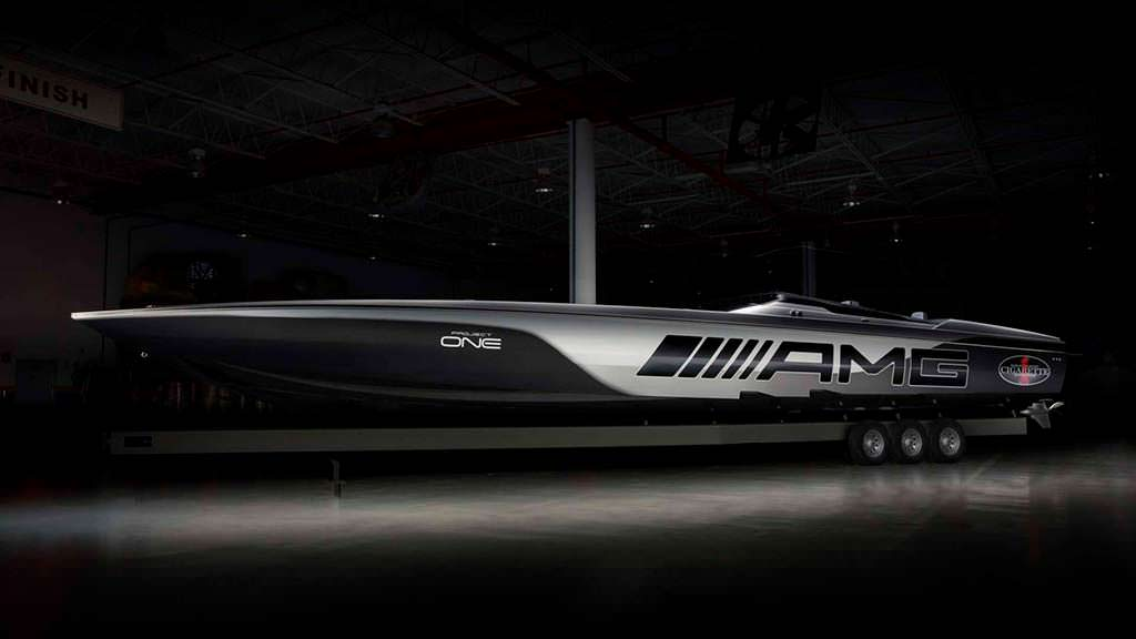 Супер-катер Cigarette Racing 515 Project One