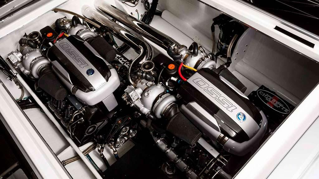 Двигатели Cigarette Racing 515 Project One: мощность 3100 л.с.