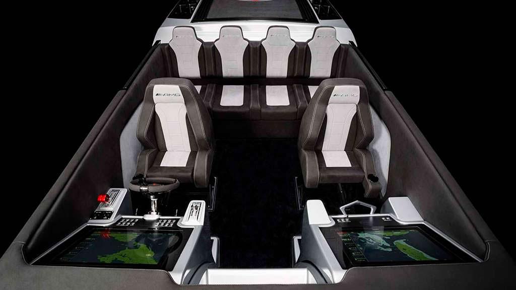 Салон катера Cigarette Racing 515 Project One на 6 человек