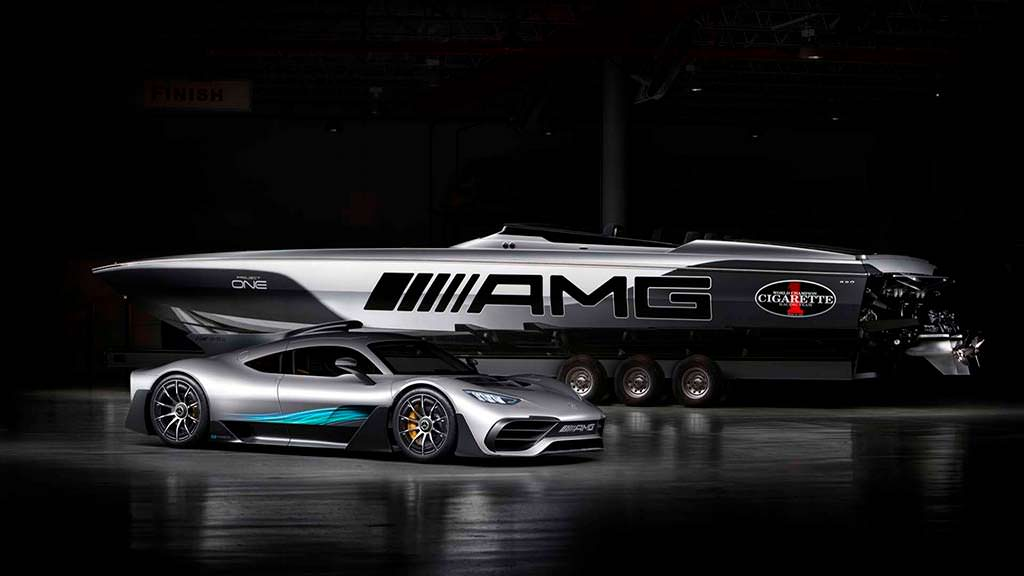 Катер Cigarette Racing 515 Project One. Скорость 225 км/ч