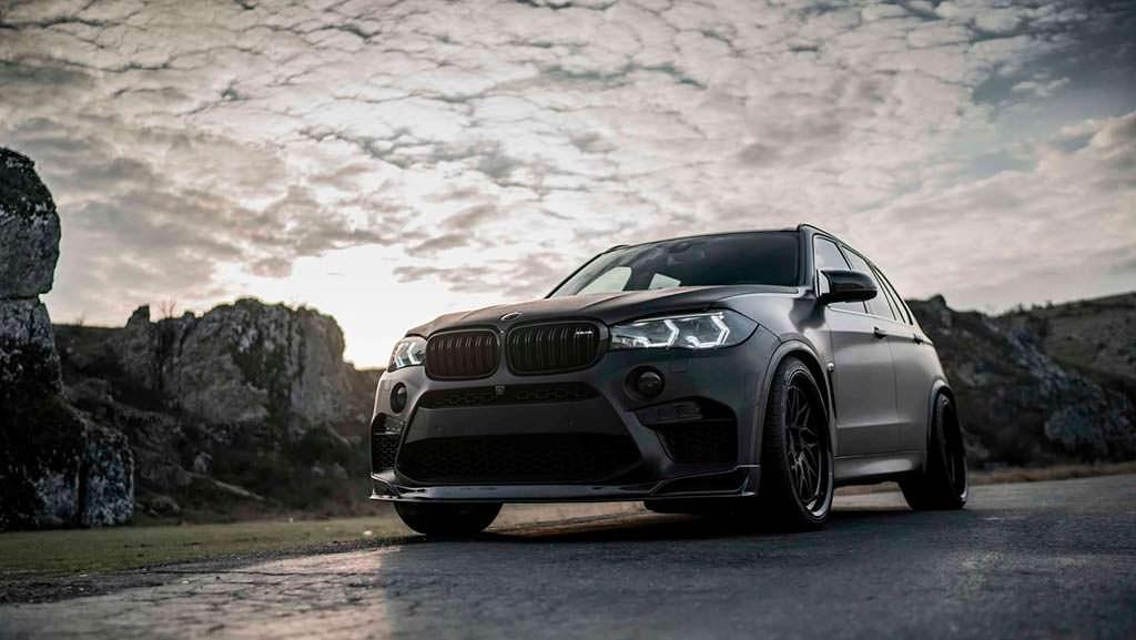 Тюнингованная BMW X5 M от Z-Performance