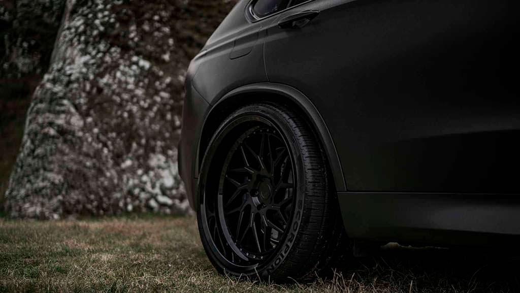 Колёса 22 дюйма от Z-Performance на BMW X5 M