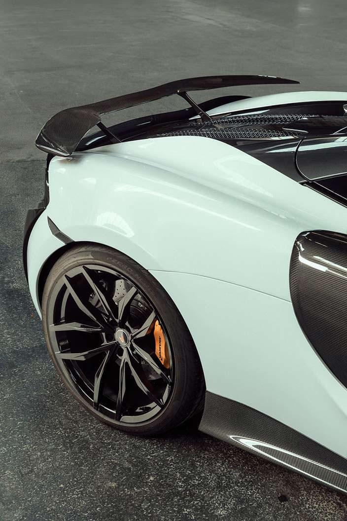 21-дюймовые колёсные диски McLaren 570S Spider от Novitec