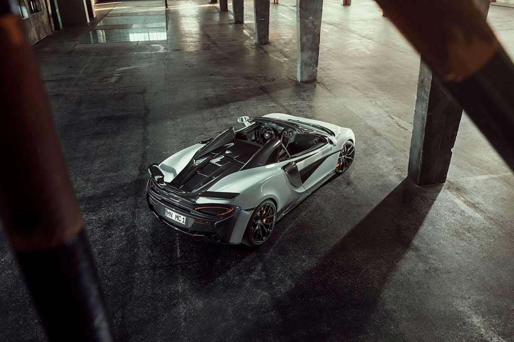 Суперкар McLaren 570S Spider. Тюнинг от Novitec