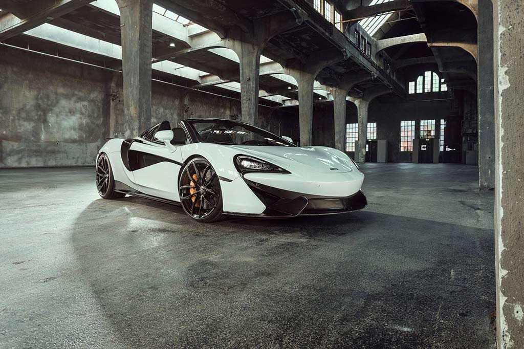 Новый McLaren 570S Spider. Тюнинг от Novitec