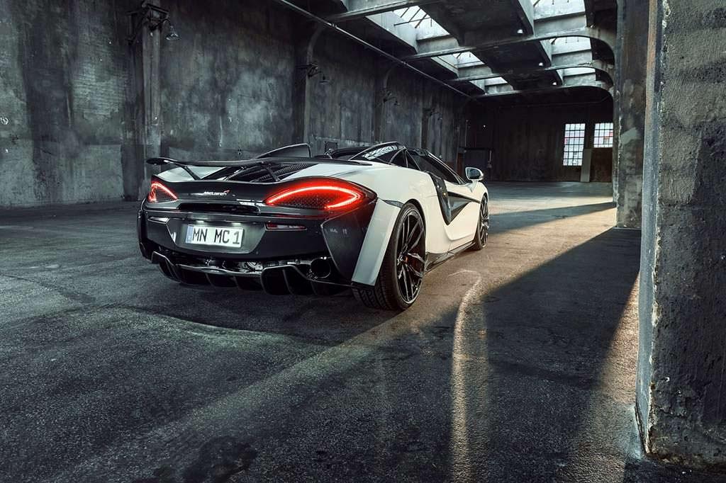 Тюнинг McLaren 570S Spider от Novitec