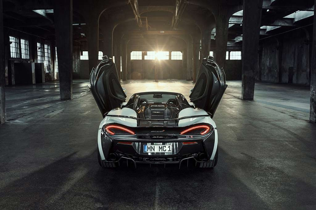 Тюнинг родстера McLaren 570S Spider от Novitec