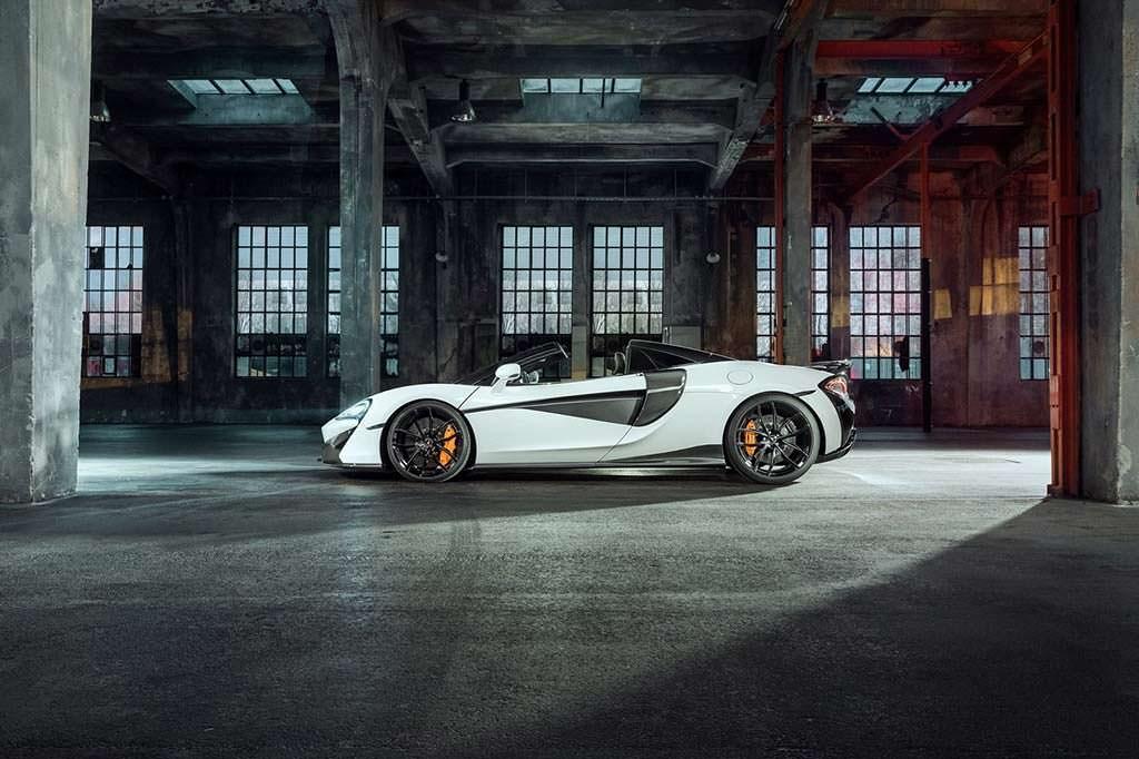 Родстер McLaren 570S Spider. Тюнинг от Novitec