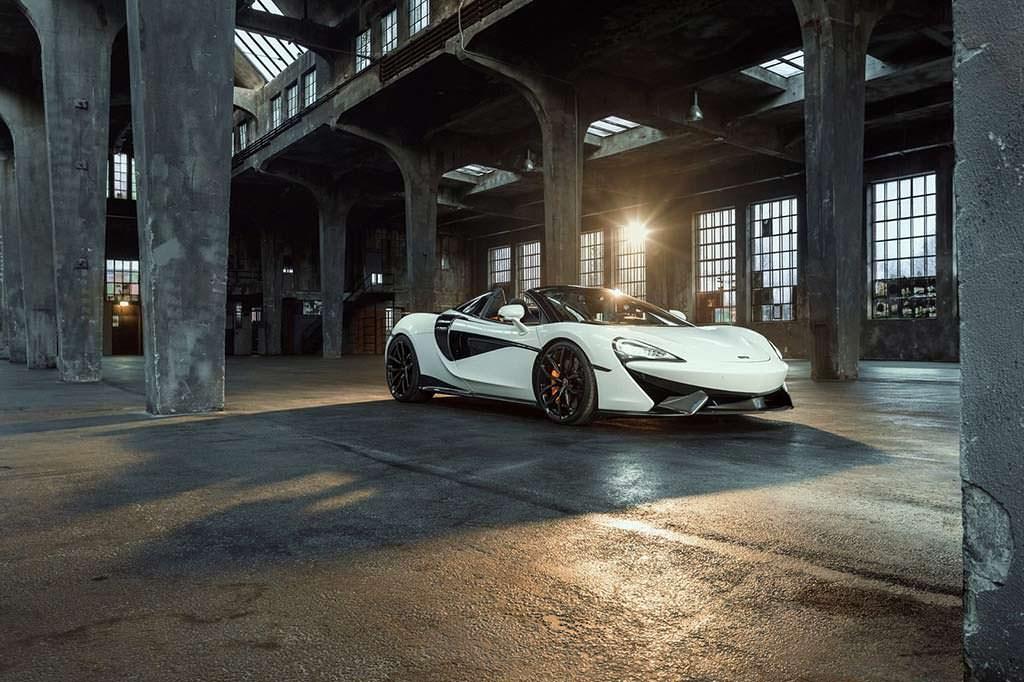 McLaren 570S Spider от Novitec: максимальная скорость 335 км/ч