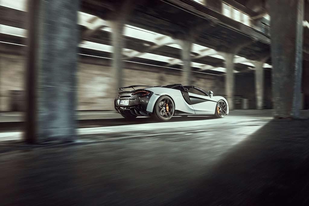 McLaren 570S Spider от ателье Novitec