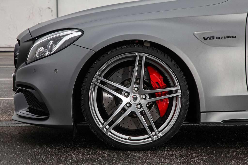 20-дюймовые колёсные диски Mercedes-AMG C63 Cabriolet от Vath