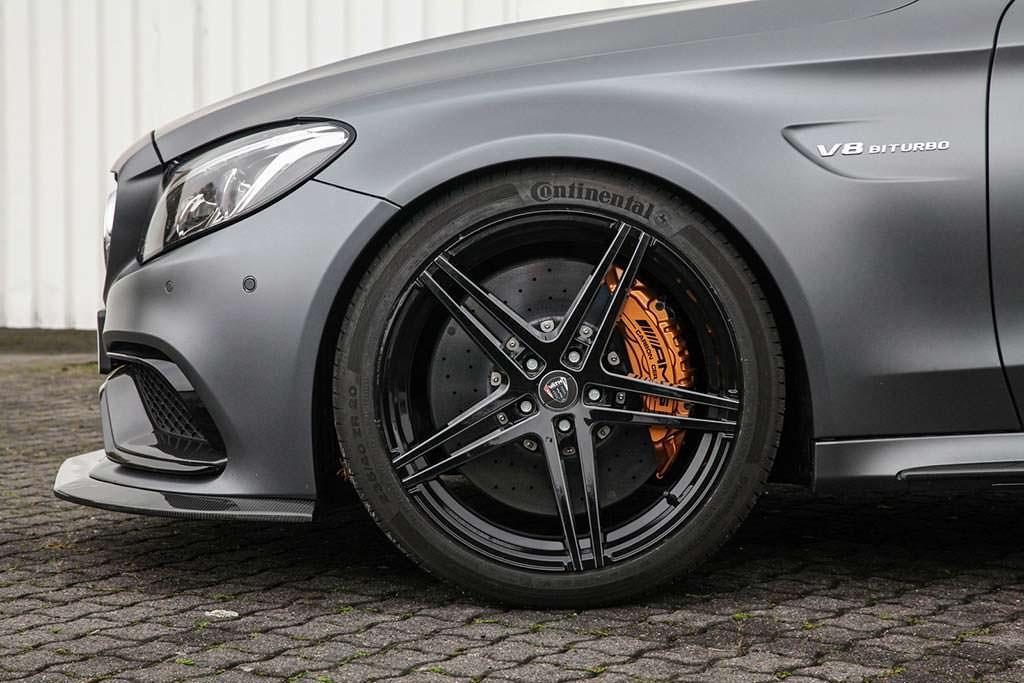 20-дюймовые диски Mercedes-AMG C63 Coupe от Vath