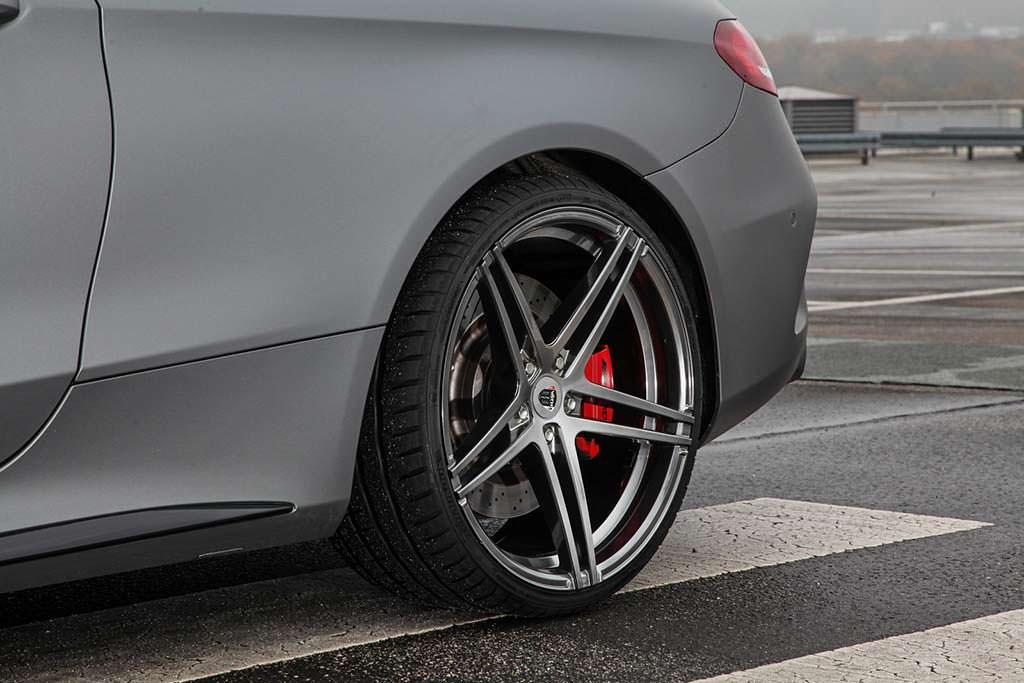 Колёса 10 х 20-дюймов Mercedes-AMG C63. Тюнинг от Vath