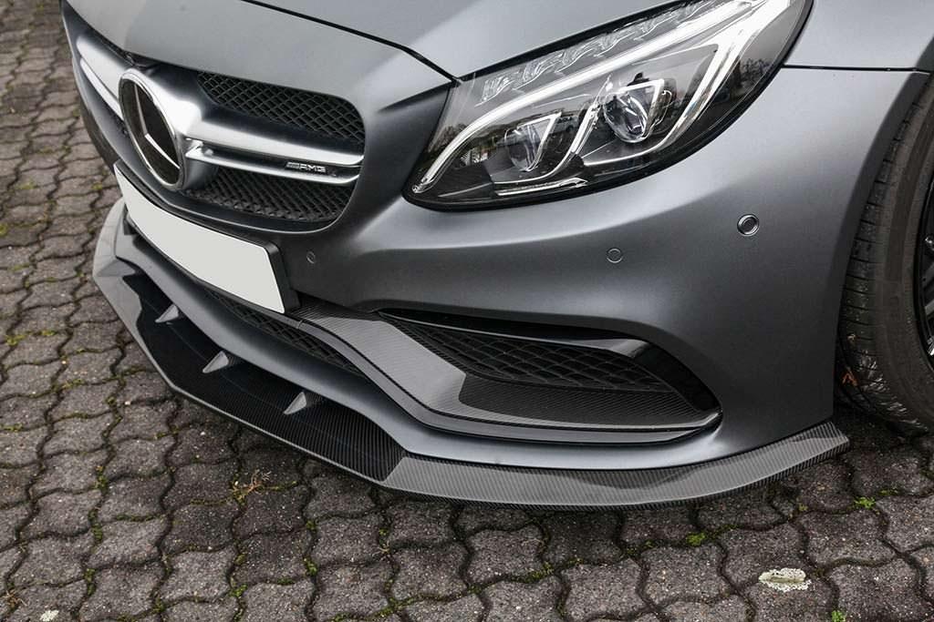 Карбоновый сплиттер Mercedes-AMG C63 Cabriolet от Vath