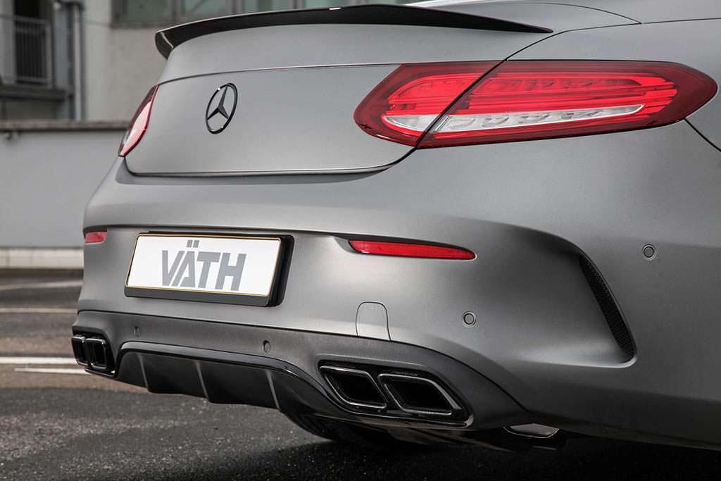 Новая выхлопная система Mercedes-AMG C63 Cabriolet от Vath