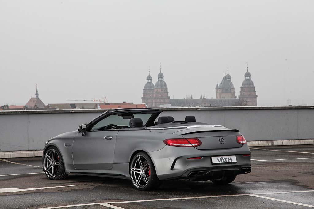 Кабриолет Mercedes-AMG C63. Тюнинг от Vath