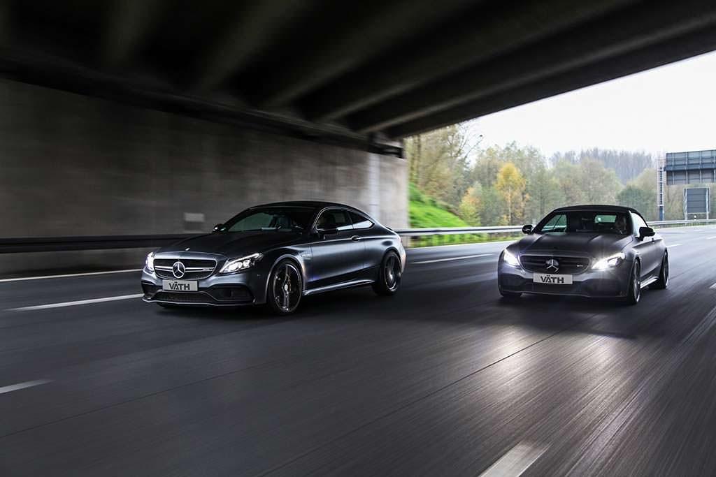 Купе и кабриолет Mercedes-AMG C63. Тюнинг от Vath