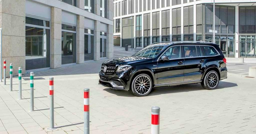 Чёрный Mercedes-Benz GLS от Hofele Design
