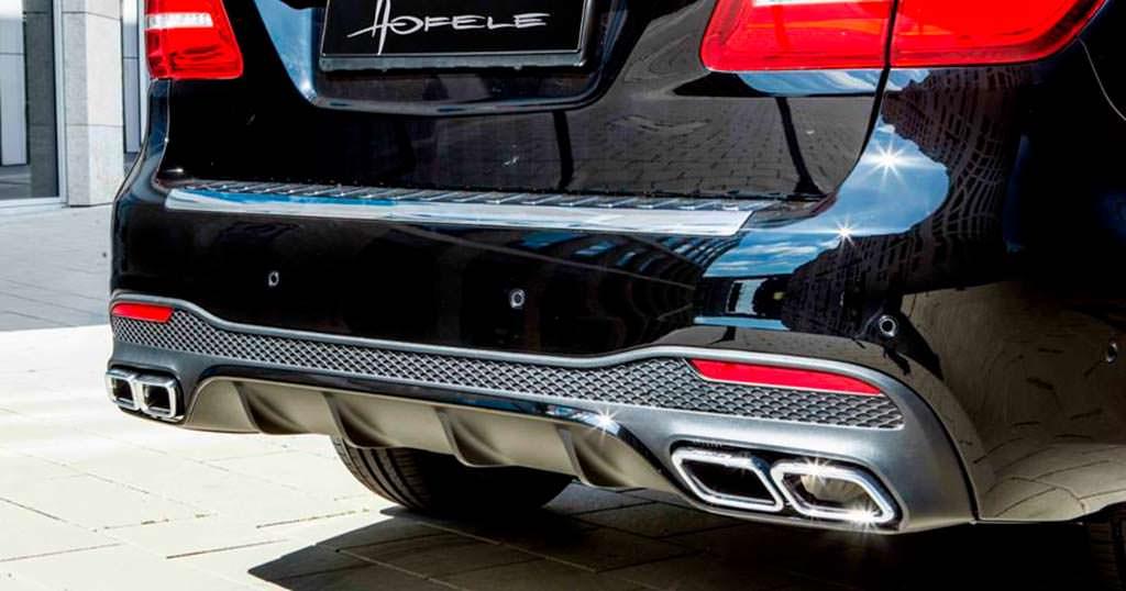 Задний диффузор Mercedes-Benz GLS от Hofele Design