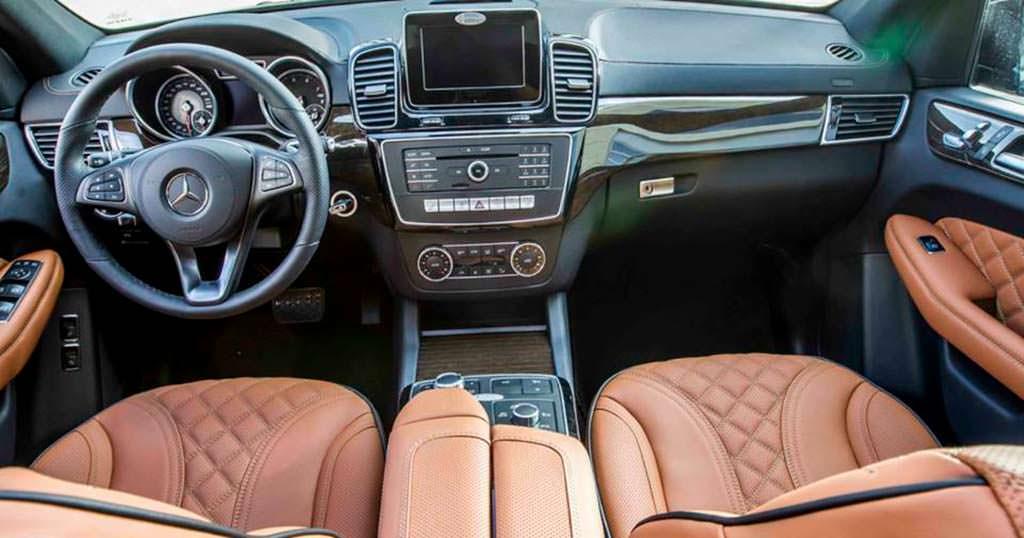 Фото салона Mercedes-Benz GLS от Hofele Design