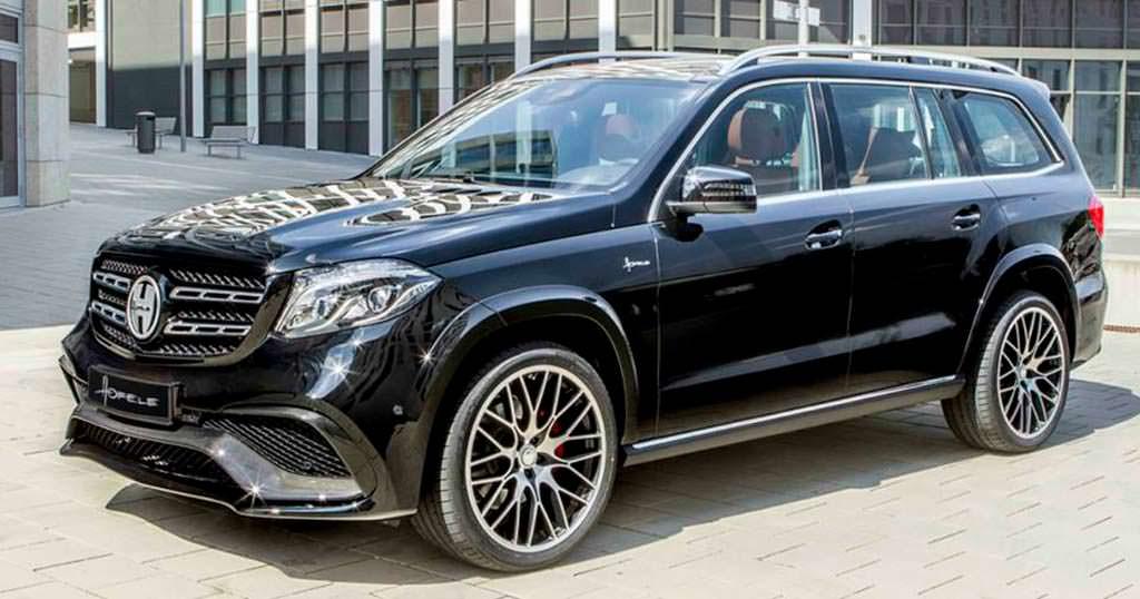 Новые колёсные диски Mercedes-Benz GLS от Hofele Design
