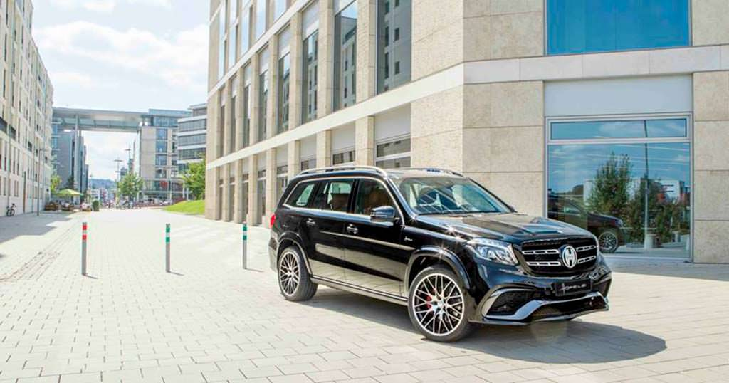 Внедорожник Mercedes-Benz GLS. Тюнинг от Hofele Design