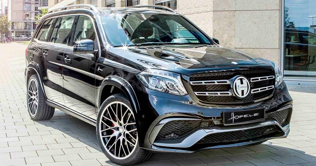 Тюнингованный Mercedes-Benz GLS от Hofele Design