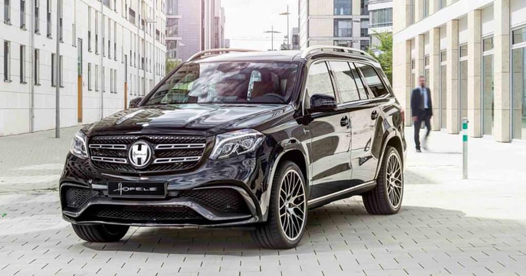 2018 Mercedes-Benz GLS от Hofele Design