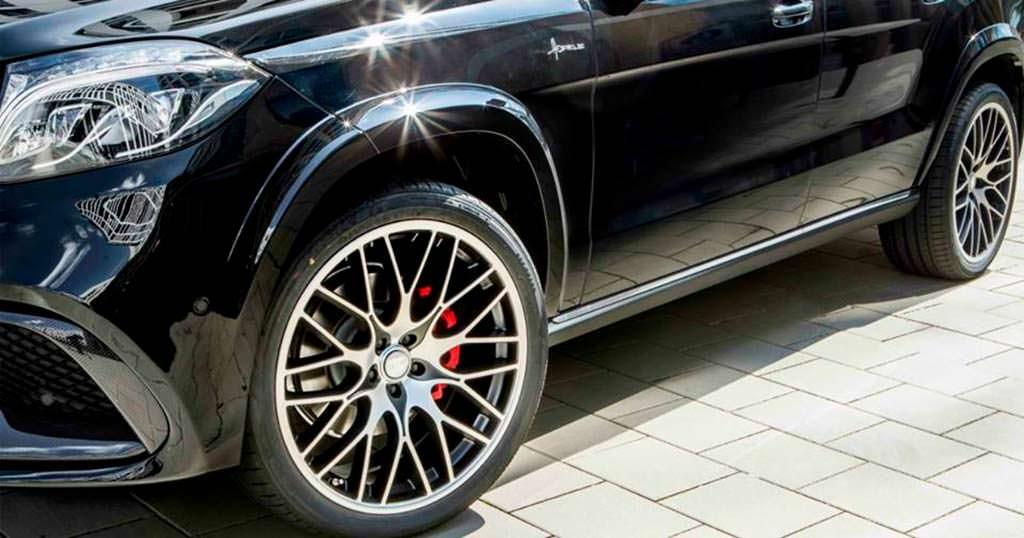 Новые колёса Mercedes-Benz GLS от Hofele Design