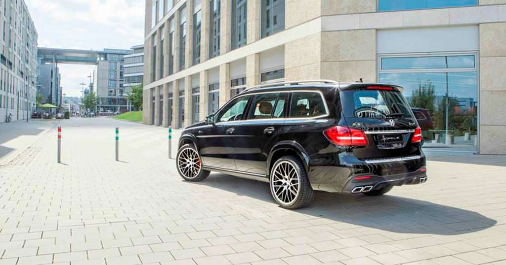 Mercedes-Benz GLS от Hofele Design