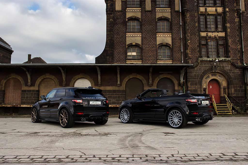 Последний тюнинг Range Rover Evoque от Arden