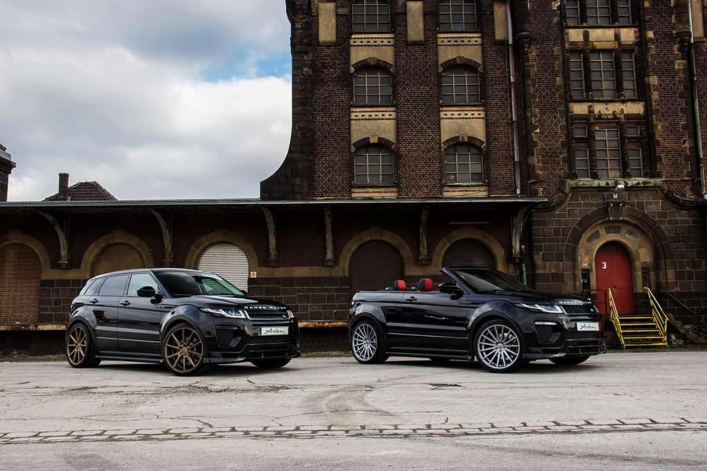 Купе и кабриолет Range Rover Evoque. Тюнинг от Arden