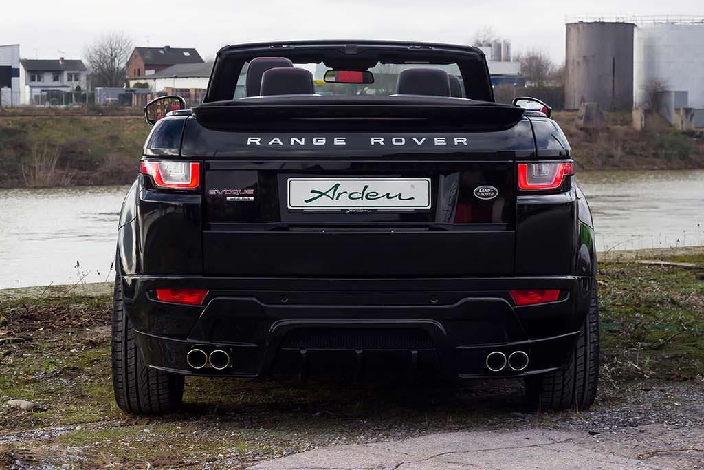 Кабриолет Range Rover Evoque. Тюнинг от Arden