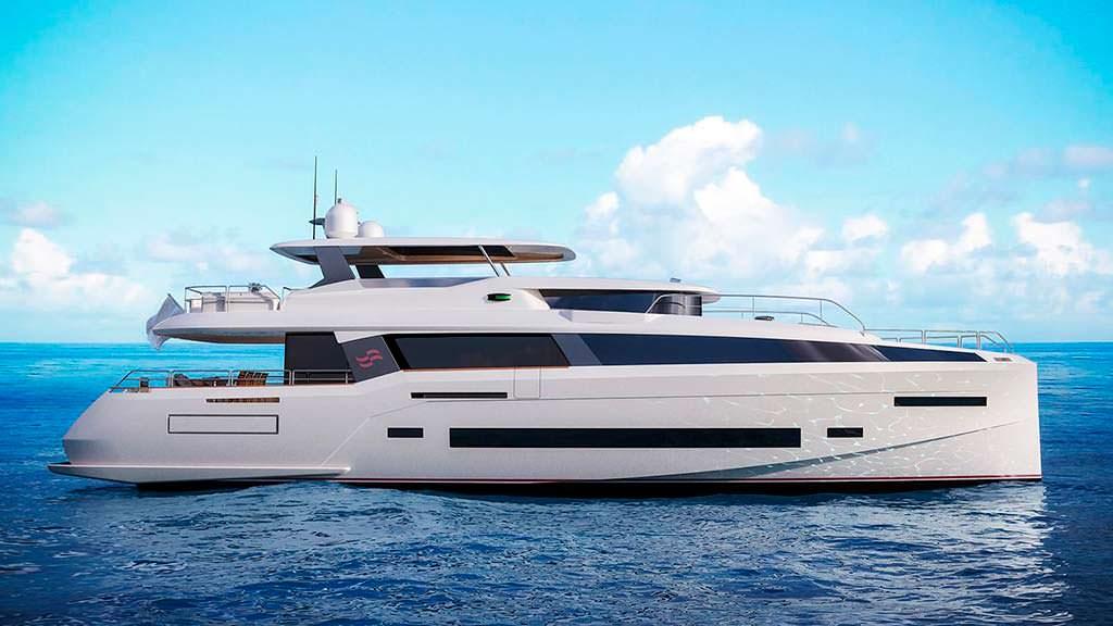 Турецкая яхта Sirena 85. Максимальная скорость 25 узлов