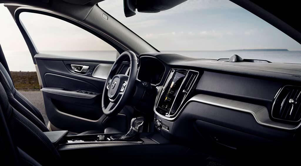 Фото внутри Volvo V60 нового поколения