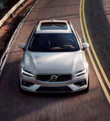 Универсал Volvo V60 нового поколения официально | фото, видео