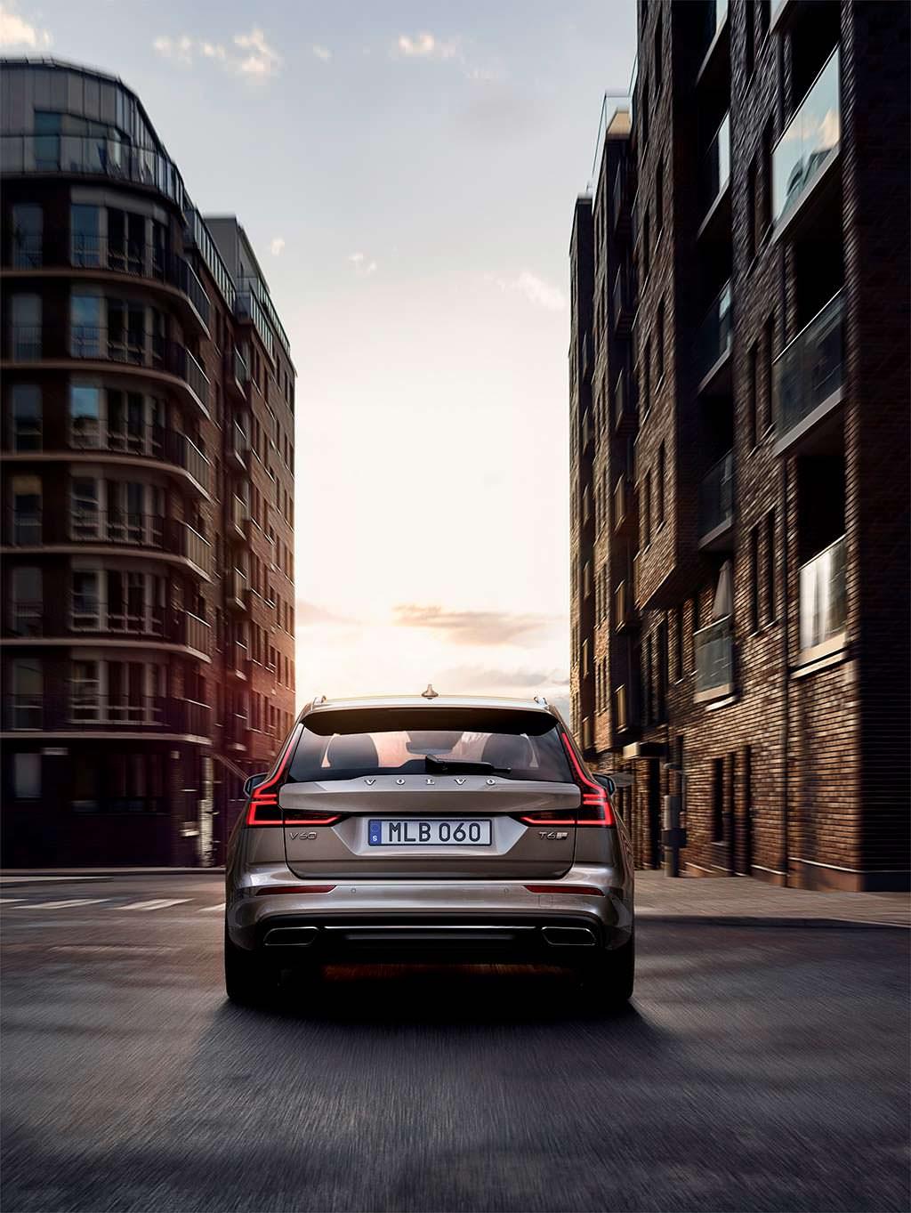 Новая Volvo V60