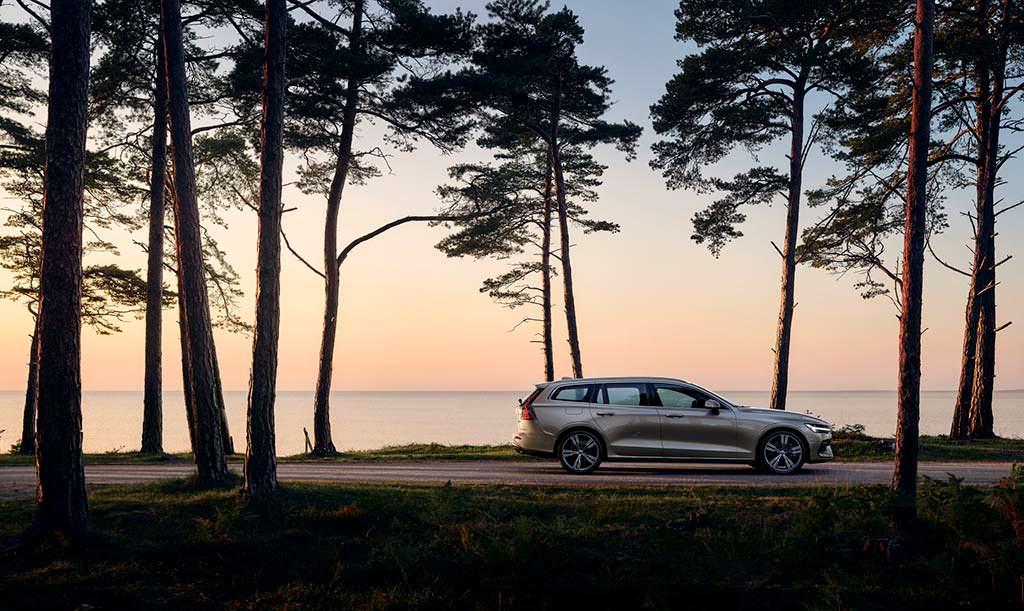 Универсал Volvo V60 на платформе SPA