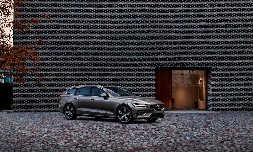Новое поколение Volvo V60