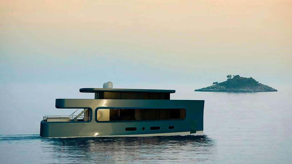 Яхта длиной 28 метров от Isaac Burrough Design
