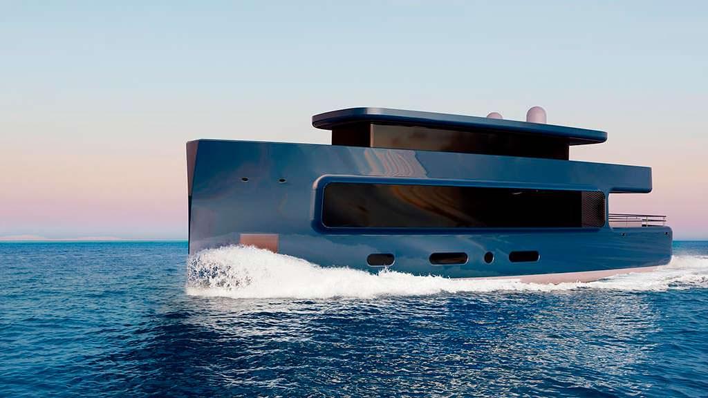 Яхта на 8 гостей от Isaac Burrough Design