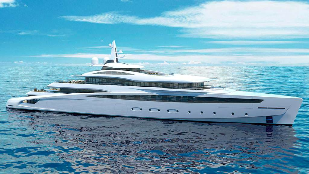 Яхта Project Affinity длиной 85 метров от The A Group