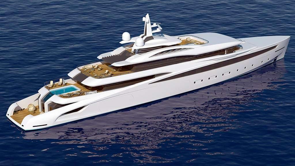 Гигантская яхта Project Affinity от The A Group