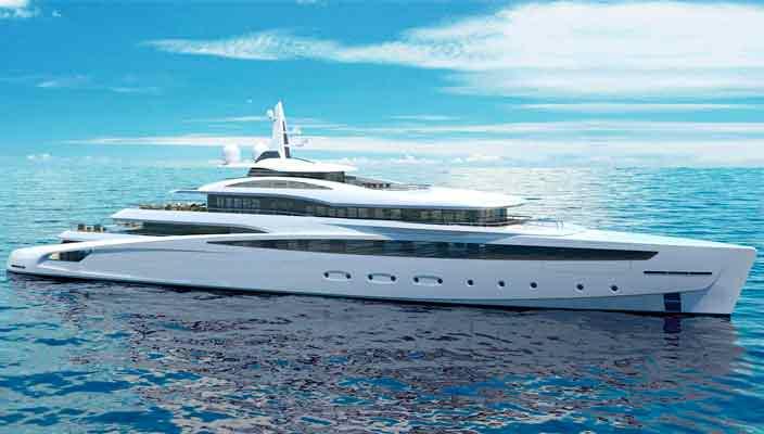 Представлена яхта длиной 85 метров Project Affinity | фото