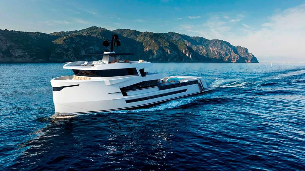 Новая яхта Naucrates 130 от Cantieri Navali Chioggia