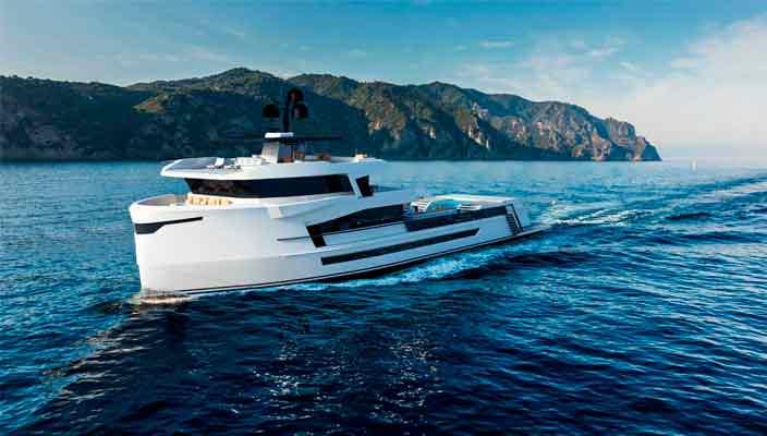 Новая яхта Naucrates 130 от Cantieri Navali Chioggia | фото