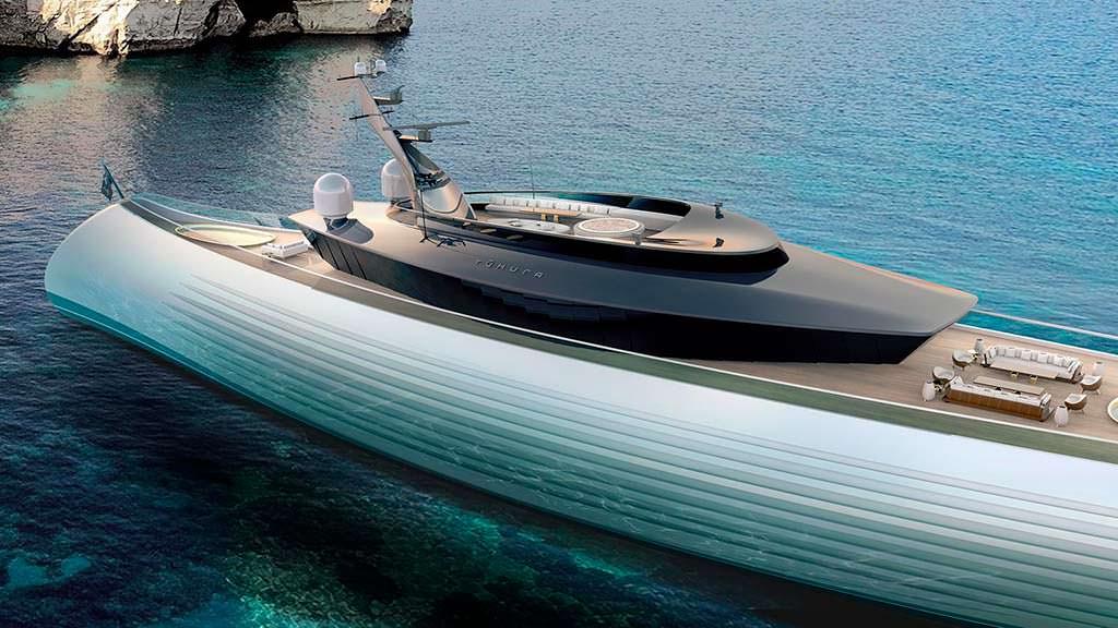 Tuhura - суперъяхта длиной 115 метров от Oceanco