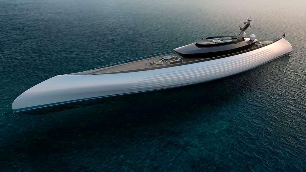 115 метровая яхта Tuhura. Дизайн Игоря Лобанова
