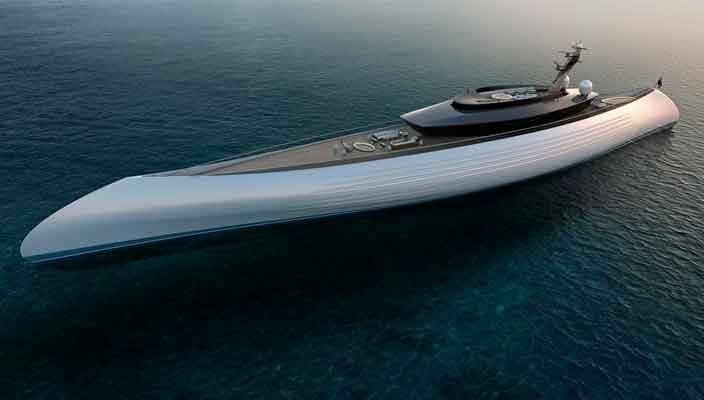 Tuhura - яхта длиной 115 метров от Oceanco и Lobanov Design